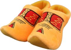 Gele Woodenshoes by Wilhelmus Klompsloffen Boeren geel maat 31 - 35
