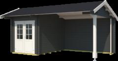 Outdoor Life Products | Kapschuur Kenzo 300 | Carbon Grey | 560x320