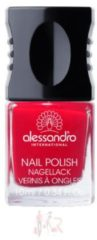 Alessandro Make-up Nagellack Colour Explotion Nagellack Nr. 27 Secret Red 10 ml