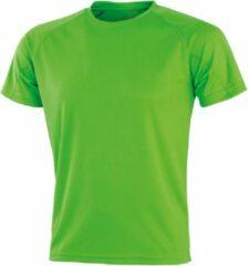Groene Senvi Sports Performance T-Shirt - Lime - XXS - Unisex