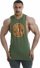 Kaki Gold's gym Performance Stretch Vest leger - L