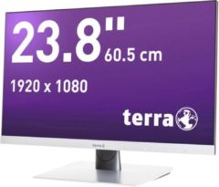 Terra LED 2462W LED-monitor 60.5 cm (23.8 inch) Energielabel A+ (A+ - F) 1920 x 1080 pix Full HD 4 ms DVI, Audio-Line-in, HDMI, DisplayPort AMVA LED