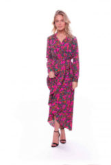 Fuchsia Colourful Rebel Vivian Flower Blazer Dress