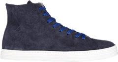 Blue Hogan Rebel Scarpe sneakers alte uomo in camoscio r141 hi top