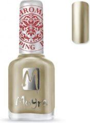 Gouden Moyra Stamping Nail Polish 12ml SP24 CHROME GOLD