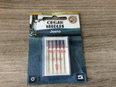 Blauwe Organ needles Organ naaimachinenaalden jeans