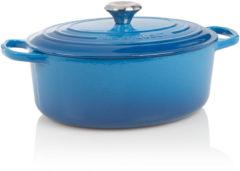 Le Creuset Signature Braadpan - 4,7 liter - 29 cm - Ovaal - Marseille Blauw