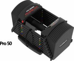 Zwarte PowerBlock Pro 50 (1-23 KG)