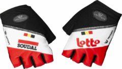 Rode Vermarc Soudal Lotto 2020 Zomerhandschoenen Maat L