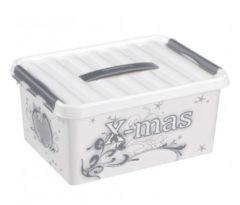 Sunware Q-line Kerst Opbergbox Decor 15L - trays voor 40 kerstballen (Ø 45-60mm)