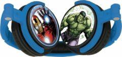 Blauwe Lexibook- The Avengers stereo headphones
