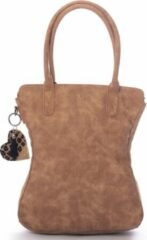 Madhura bags Damestas Shopper Curvy Classic Camel