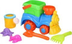 Eddy Toys strandspeelset trein 8-delig