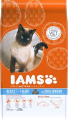Iams Cat Adult - Fish & Chicken - Kattenvoer - 3 kg