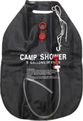 Zwarte Fosco Camping Douche - 20L - Met Douchekop