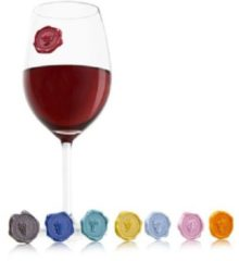 VacuVin Vacu Vin Glas Markers Classic Grapes