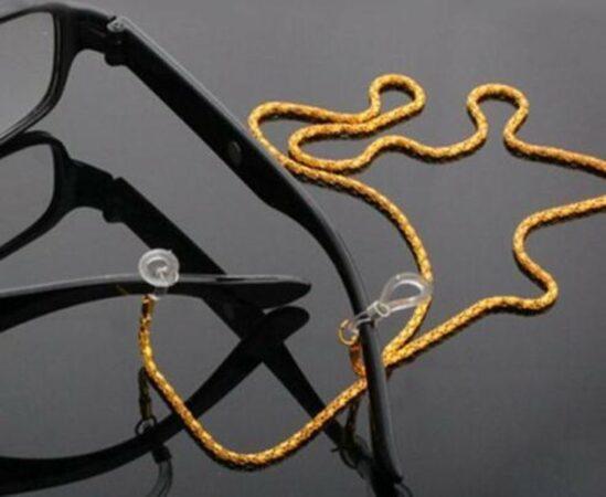 Afbeelding van EPIN 3D EPIN | Brillenkoord | Zonnebril Ketting | Goud Kleurig Metaal
