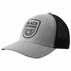 Grijze Black Diamond - Black Diamond Trucker Hat - Pet maat One Size grijs/zwart