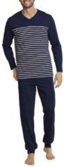 Bündchen-Pyjama Seidensticker Dunkelblau
