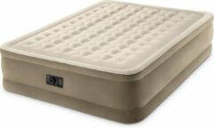 Beige Intex Ultra Plush Queen Luchtbed - 2-persoons - 203x152x46 cm