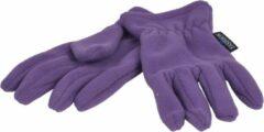 P&T Handschoenen Micro Fleece - Fel Paars - 7-8j