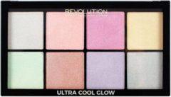 Makeup Revolution Ultra Cool Glow Palette