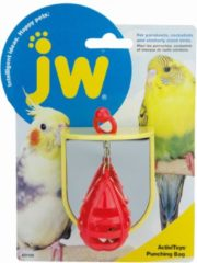 Rode Jw activitoy punching bag 7,5 x 6,5 x 6,5 cm - 1 ST