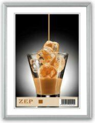 Zep - Aluminium Fotolijst Ombretta Zilver Voor Foto Formaat 30x40 - Al1s5