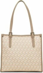 Shopper LANCASTER Paris Ikon - Tote bag - canvas/leer - BEIGE