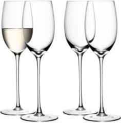 Transparante LSA International L.S.A. Wine Wijnglazen Wit - 340 ml - Set van 4 Stuks