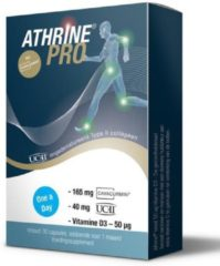 Athrine® PRO - UC-II®, CAVACURMIN® en Vitamine D3 - 30stuks (maandverpakking)