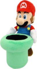 Little Buddy knuffel Super Mario Bros: Mario & Warp Pipe 23 cm