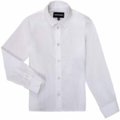 Witte Overhemd Lange Mouw Emporio Armani 8N4CJ0-1N06Z-0100