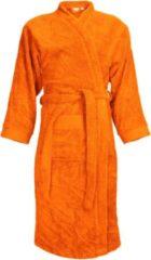 Classic Collection I2T Badjas badstof zonder Capuchon - Oranje - XXL/3XL - 340 gr/m²