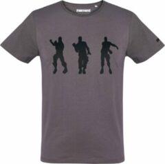 Fortnite T-shirt met korte mouw - dark-grijs - Maat XXL