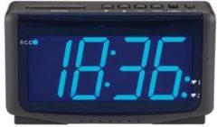 Balance Time wekker HI-TECH, zwart, uurwerk radiosynchronisatie, voeding 230Vac