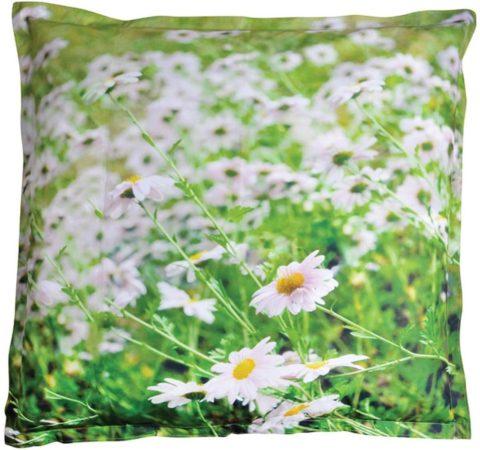 Afbeelding van Esschert Design zitzak voor buiten bloemenprint BK010