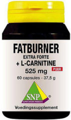 Snp Fatburner Extra Forte And L-carnitine 525 Mg Puur Afslankpillen