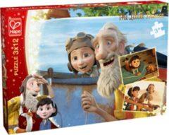 Hape legpuzzel De Kleine Prins - Dagdroom 3 puzzels 12 stukjes