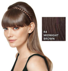 Great Lengths Hairdo French Braid Band R4 Midnight Brown