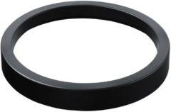 Grijze Helit Ring afvalbak zwart