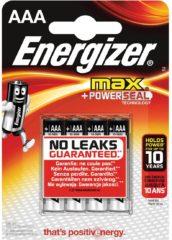Energizer EN-E300124200 Alkaline Batterij Aaa 1.5 V Max 4-blister