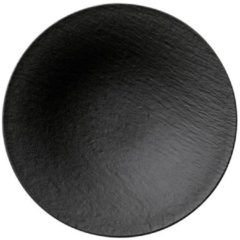 Villeroy & Boch 10-4239-2701 eetschaal Saladeschaal Rond Porselein Zwart 1 stuk(s)