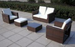 Baidani Rattan Garten Lounge Garnitur Move