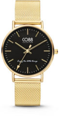 CO88 Collection CO88 8CW-10007 - Horloge - Mesh Stalen Band - Goudkleurig - 36 mm