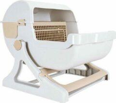 Beige Eyzo Zelfreinigende Kattenbak - 50x50x46 cm - Toilet voor Katten