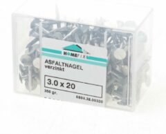 Hoenderdaal Asfaltnagel gegalvaniseerd 3.0 x 20mm (Prijs per 2 dozen)