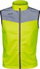 Gele Loopjasje mouwloos met zakje - WOWOW 20K maat M + gratis lampje