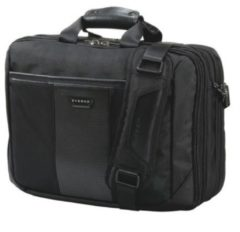 "Zwarte Everki Versa Premium Laptop Briefcase 16"" Black"