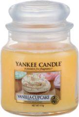 Gele Yankee Candle - Fragrant Candle Classic Medium Vanilla Cupcake (Vanilla Cupcake) 411 g - 411.0g